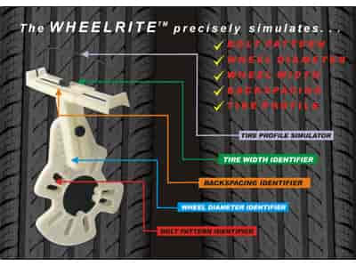 Percy's WheelRite Wheel Fitment Tool | JEGS