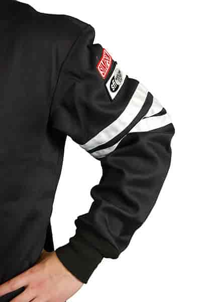 Simpson 0302412 Black X-Large Standard-6 Single Layer Driving Jacket