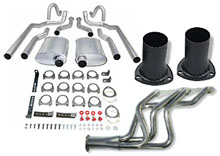 Header Back Exhaust System